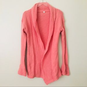 Pink Cashmere Cardigan Margaret O'Leary